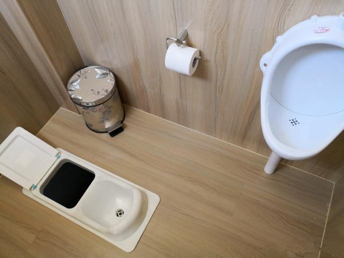 干湿分离蹲便器 农村厕所改造粪尿分集便器 1