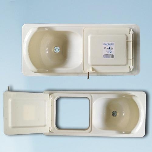干湿分离蹲便器 农村厕所改造粪尿分集便器 2