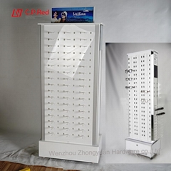 Floor Eyewear Optical Sunglasses Display Stand For Mall Glasses Store Furniture