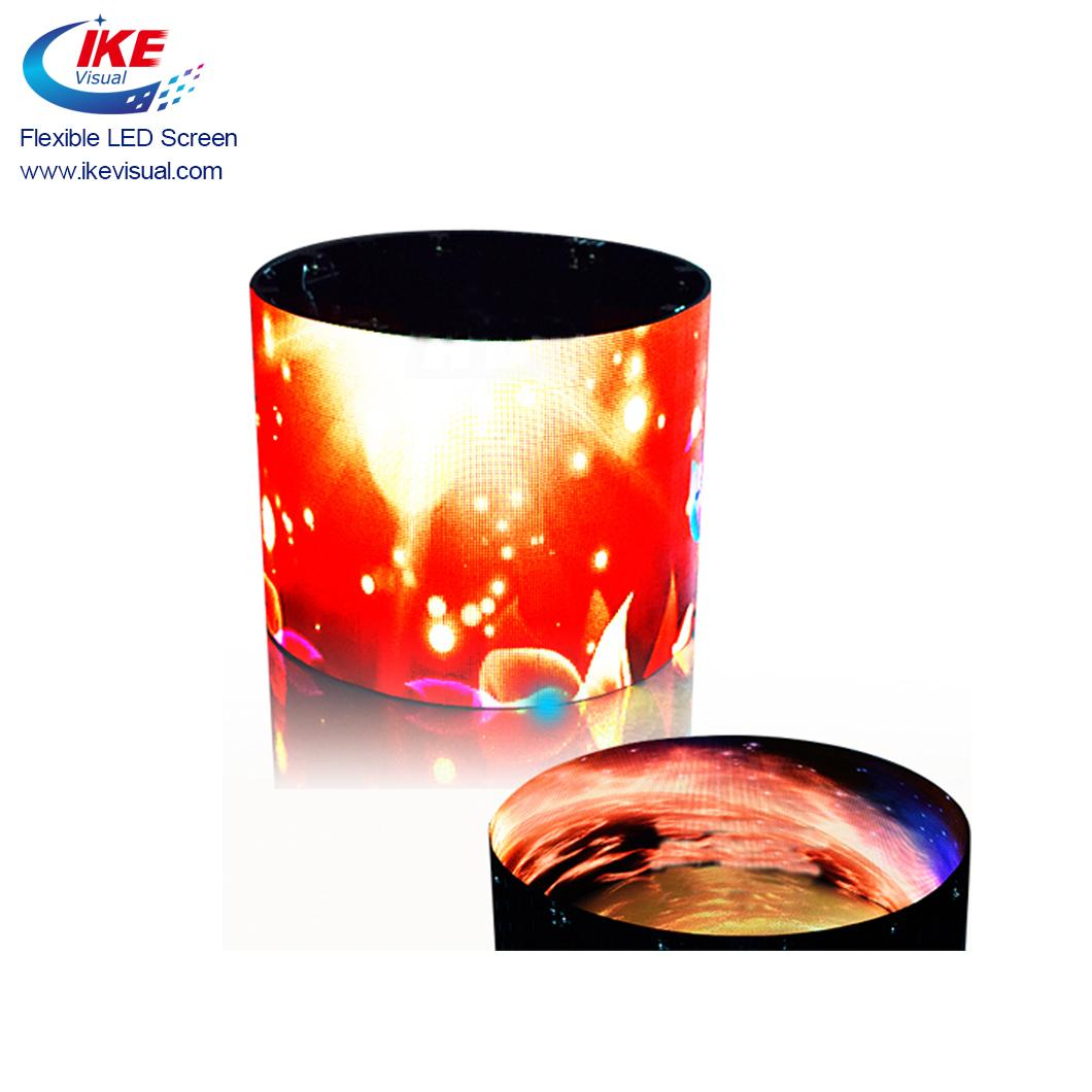 Advertising Indoor Soft Flexible LED Panel Display  4