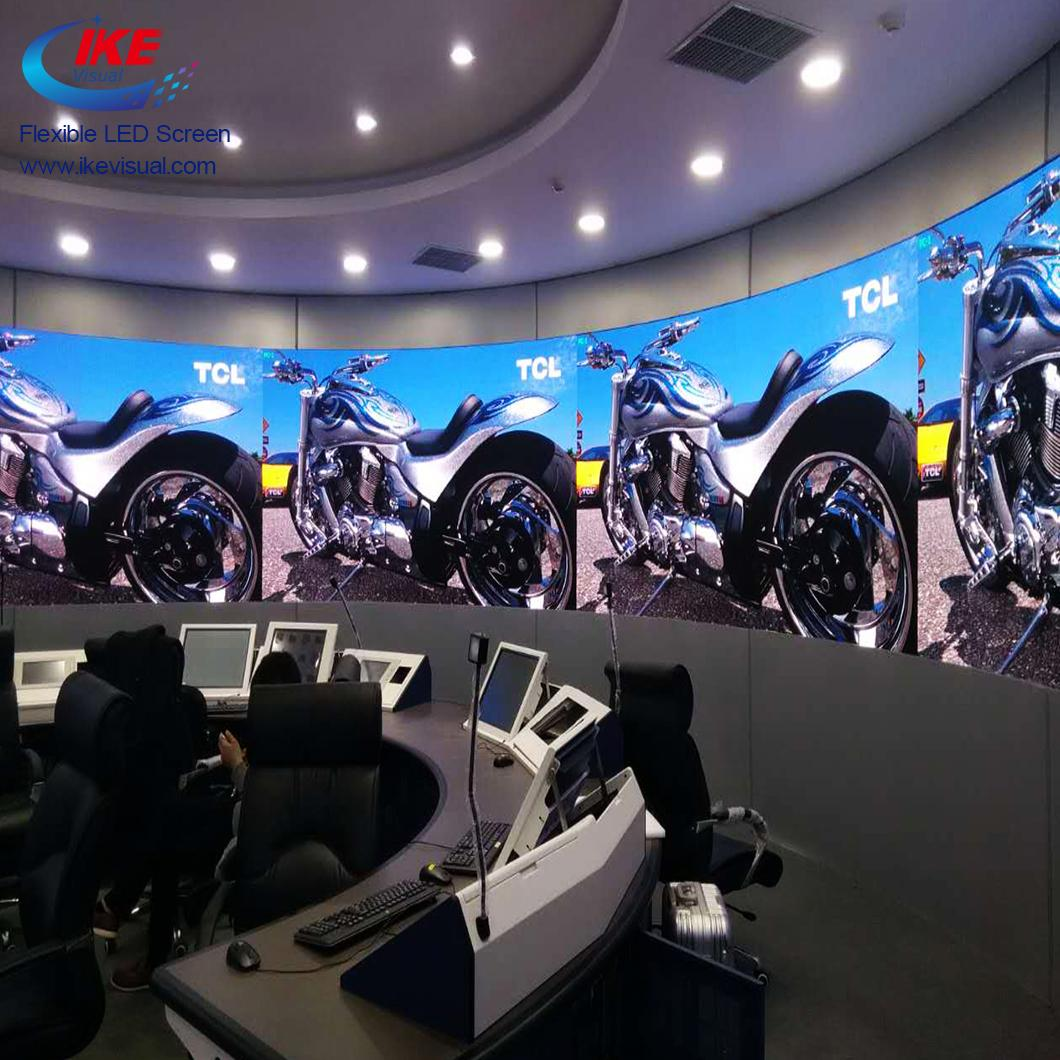 Advertising Indoor Soft Flexible LED Panel Display  5