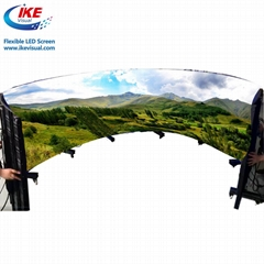 Advertising Flexible LED Display LED Sign Screen