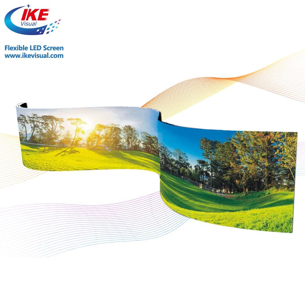Advertising Flexible LED Display LED Sign Screen 4