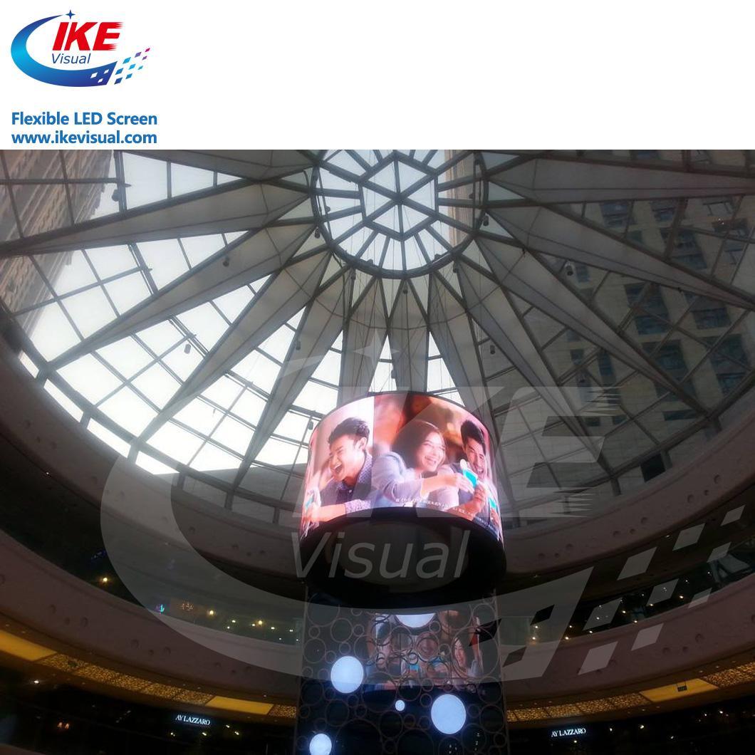 Curve flexible soft led panel LED Display 1