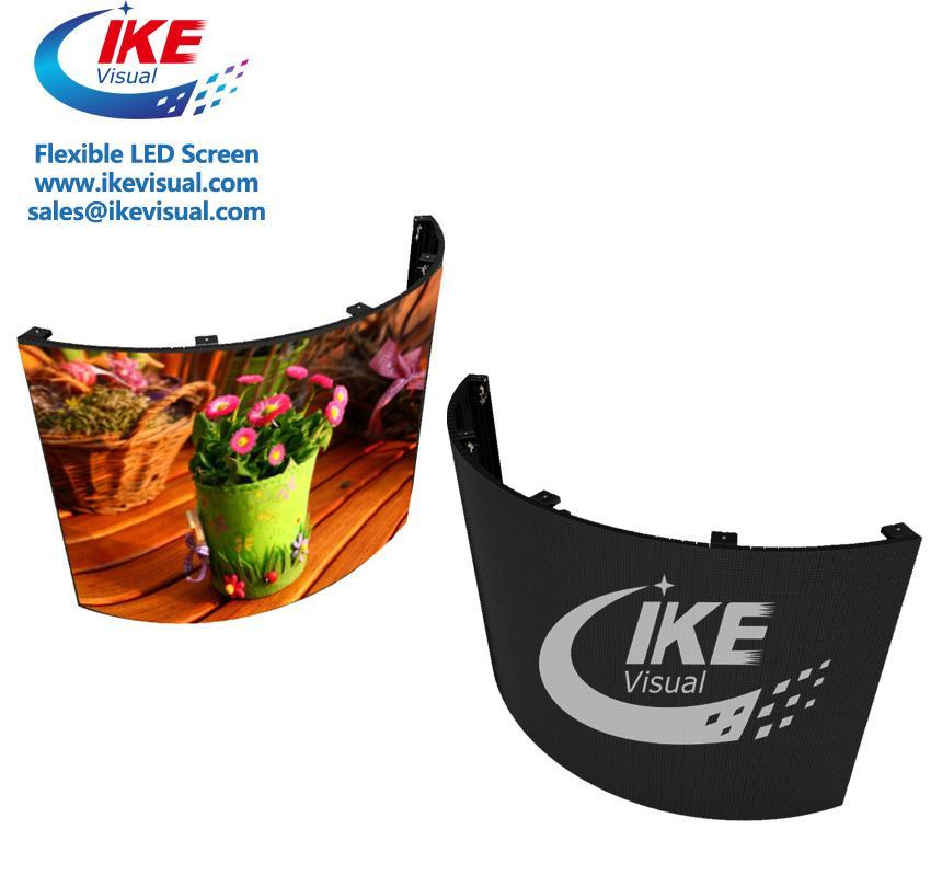 Curve flexible soft led panel LED Display 3