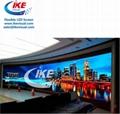 Curve flexible soft led panel LED Display 4