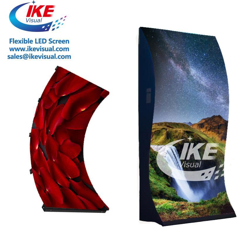 Curve flexible soft led panel LED Display 5