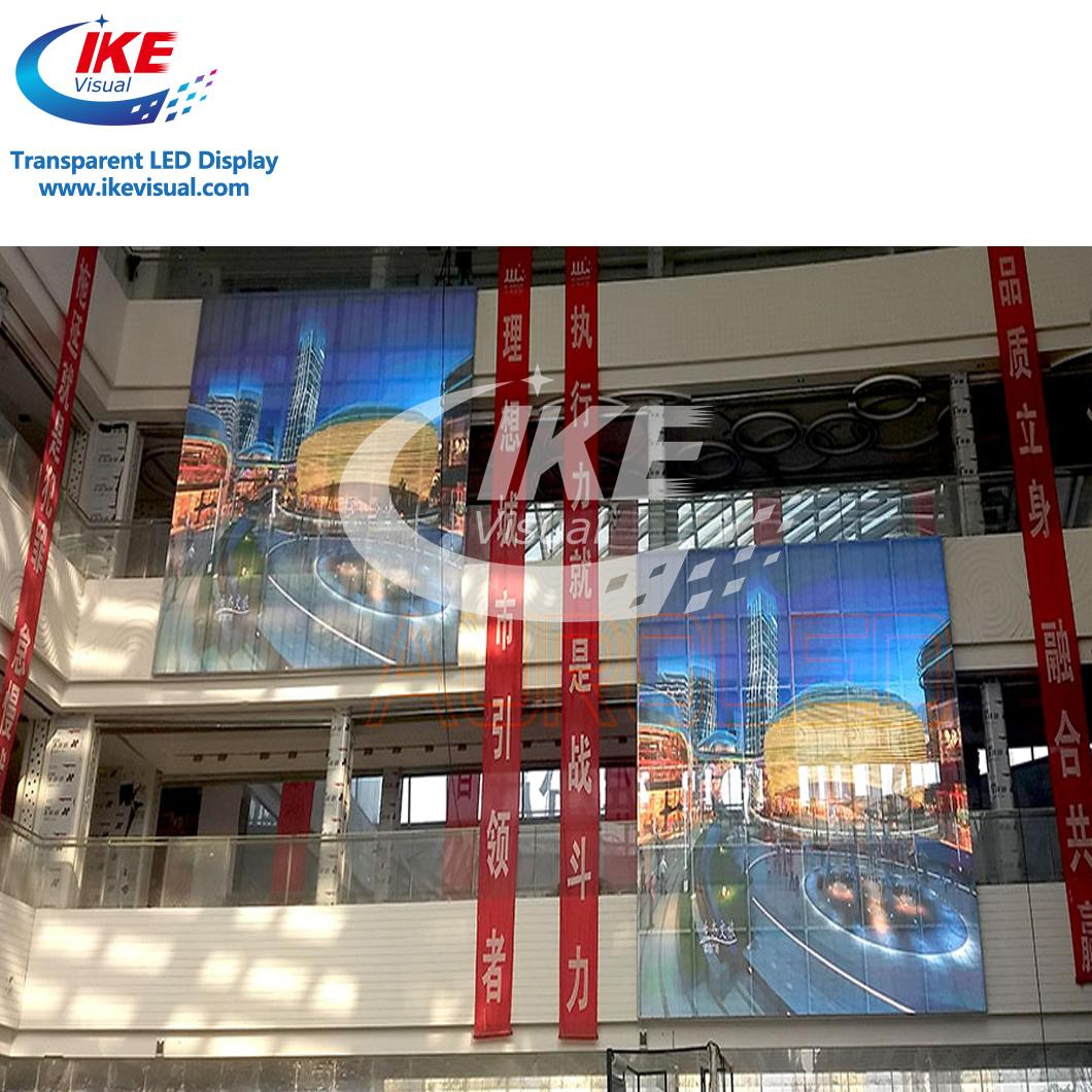 Customized Size Glass Transparent LED Screen 1