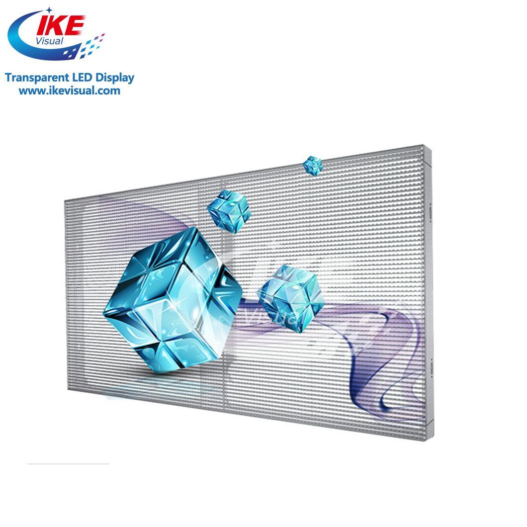 Waterproof IP65 Glass Transparent LED Screen Display 1