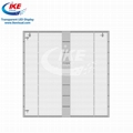 Waterproof IP65 Glass Transparent LED Screen Display 3