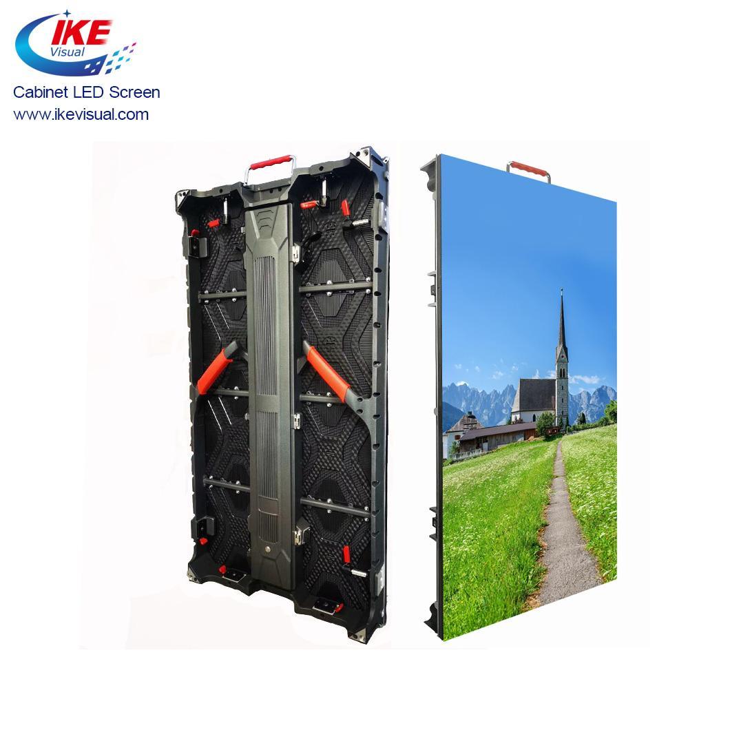 Rental Aluminium Die-casting Cabinet LED Displays 3