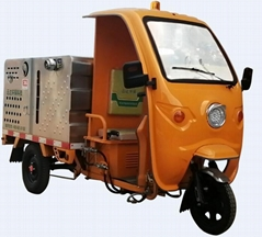 Electric High Pressure Cleaning Tricycle