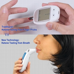 Keto Breath Testing Equipments Ketone Breathalyzer from FDA Certified Manufactur