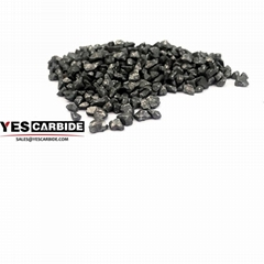 Crushed Tungsten Carbide Chips Granules grits particles