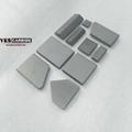 Tungsten Carbide Tiles for cultivation