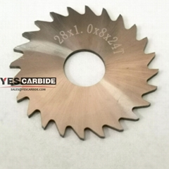 tungsten Cemented Carbide Circular disc Wheel Saw Blade Slitting Cutters