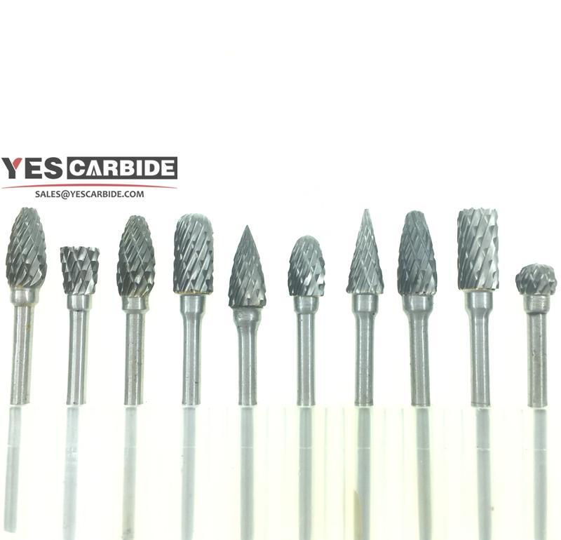 tungsten carbide rotary burrs Drill Bits Nail Art Field Gold File Broach Bit