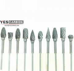 tungsten carbide rotary burrs Drill Bits Nail Art Field Gold File Broach Bit