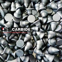 tungsten carbide inserts for road milling bits cutting asphalt roads