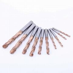 tungsten carbide drill bits twist spiral