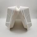 9 inch Biodegradable Bagasse Hamburger Box Food Packaging Clamshell Take away F 1