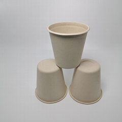 13oz Eco-friendly coffee cup,Disposable compostable milkshake cup,hot drink cup
