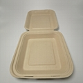 8 inch compostable sugarcane catering