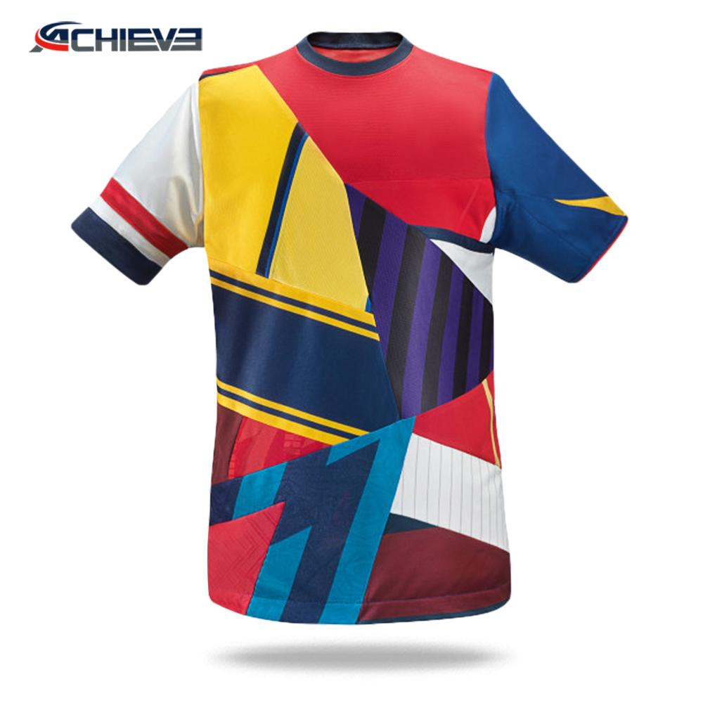 100% polyester material sublimation printing American Football Practice Jersey u 3