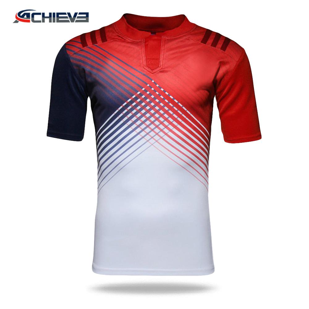 100% polyester material sublimation printing American Football Practice Jersey u 4