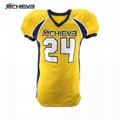 Cheap Wholesale Sublimation custom blank american football jerseys 4