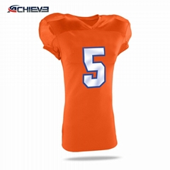 polyester material sublimation printing American Football Practice Jersey