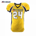 polyester material sublimation printing American Football Practice Jersey 5