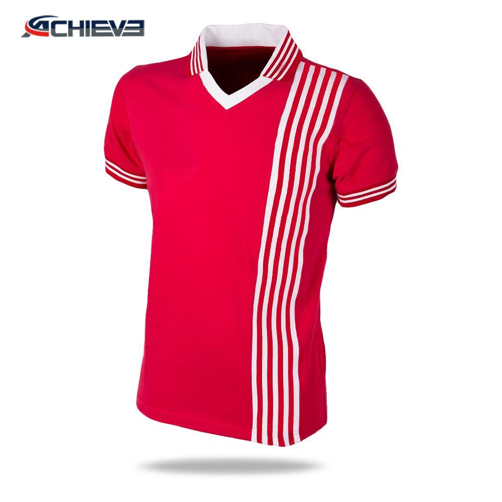 2019 Hot selling dri-fit mesh football uniforms adult retro american football go 2