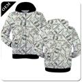 Custom Mens 3D Printed Pullover Hoodies