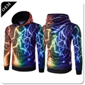Custom Mens 3D Printed Pullover Hoodies All Over Printing Polyester Hooded Sweat 3