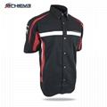 High quality Turkish leather sublimated motorcycle long sleeve jacket 2
