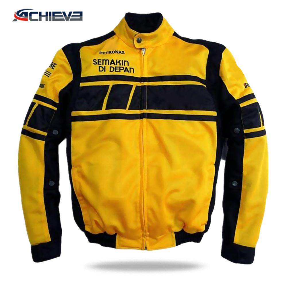 High quality Turkish leather sublimated motorcycle long sleeve jacket 4
