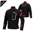High quality Turkish leather sublimated motorcycle long sleeve jacket 5