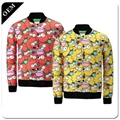 Custom Sublimated Sports Warm Up Jackets Wholesale Men Sports Plain Stripe 2