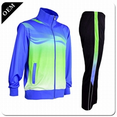 2019 New Design Football Sportswear Customized Plain Varsity Training Jacket Soc