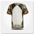 customised t shirt top the mountain v neck wholesale t shirts 3