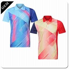 Custom logo New arrival fashion sport golf polo t shirt custom  printed t shirt