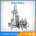 NEWEST VACUUM MIXER WITH HOMOGENIZER