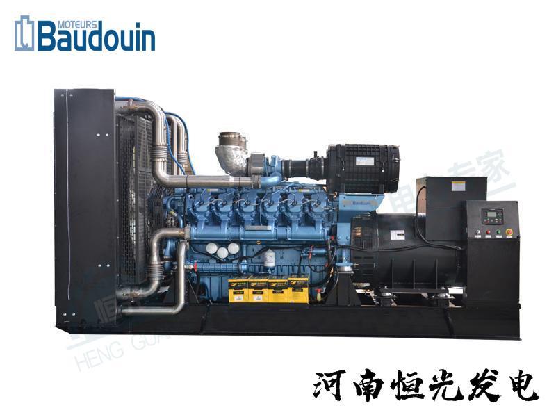 潍柴动力博杜安柴油发电机组 1