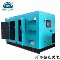 鄭州200kw靜音型柴油發電機組