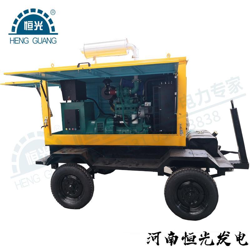 恒光50kw拖车柴油发电机组 4