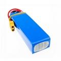 Dropwow 3S 14.8v 2200mAh 40C LiPo Battery 803496 with XT60/T/JST Plug For RC Car