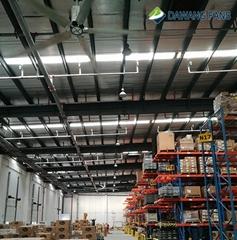 industrial big ceiling fan manufacturer bldc motor