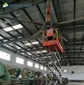 low noise big Industrial ceiling fan for