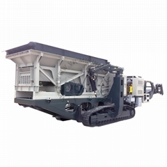 good quality mobile crushing station factory price for river stone